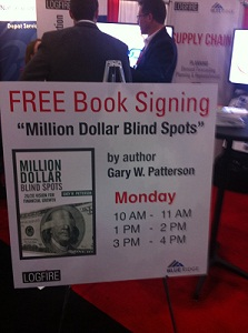 NRF Book Signing booth